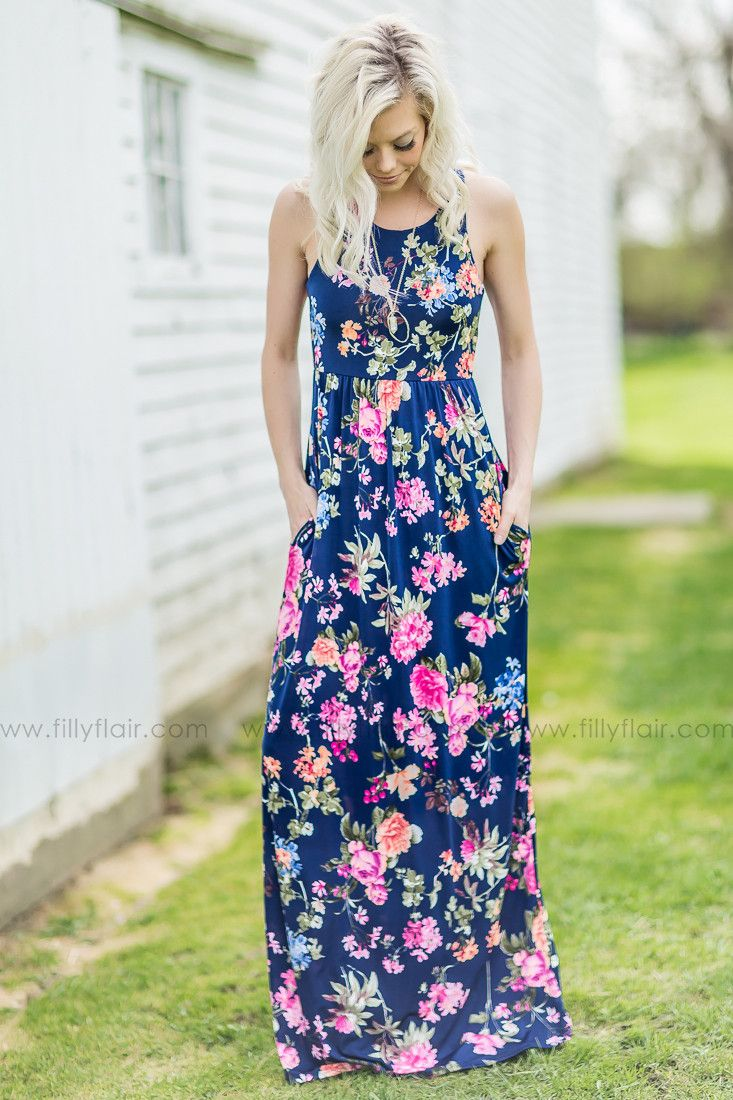 Picking Wild Flowers Maxi Dress – Filly Flair