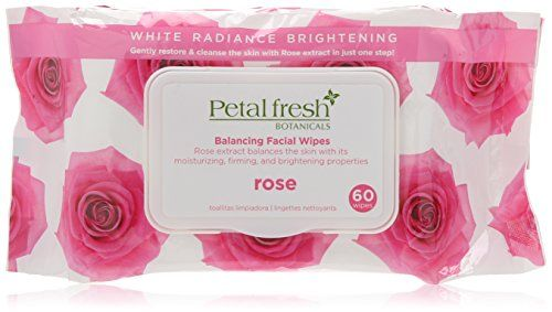 Bio Creative Lab Calming Cleansing Wipes Petal Fresh Botanicals White Radiance Brightening Rose 60 Count -- More info could be found at the image url.