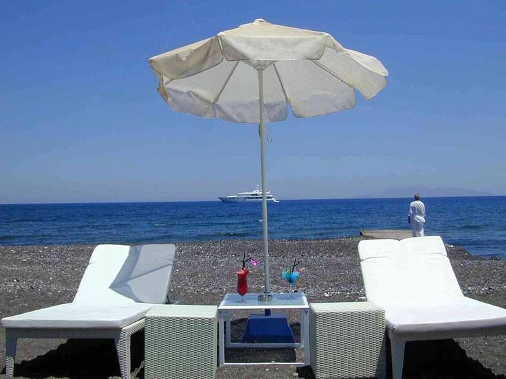 Aghia Paraskevi beach, Santorini (near Kamari beach)