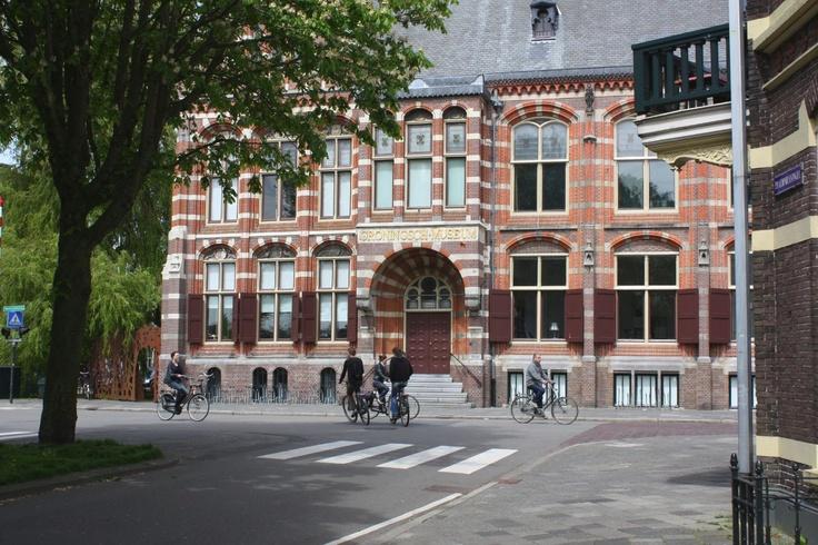 Groningen - the old Groningen Museum