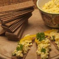 Eiersalade voor een gezond cholesterol