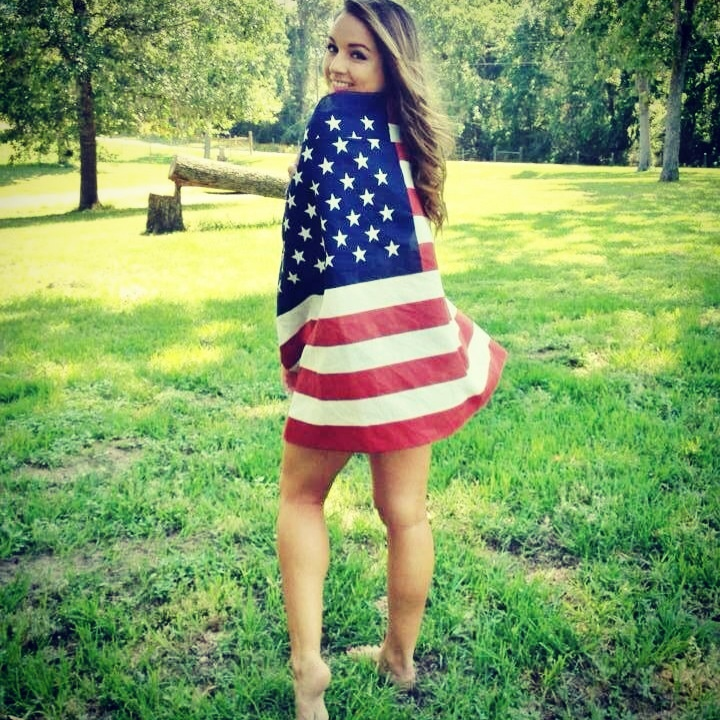 God Bless America. My sexy sister!