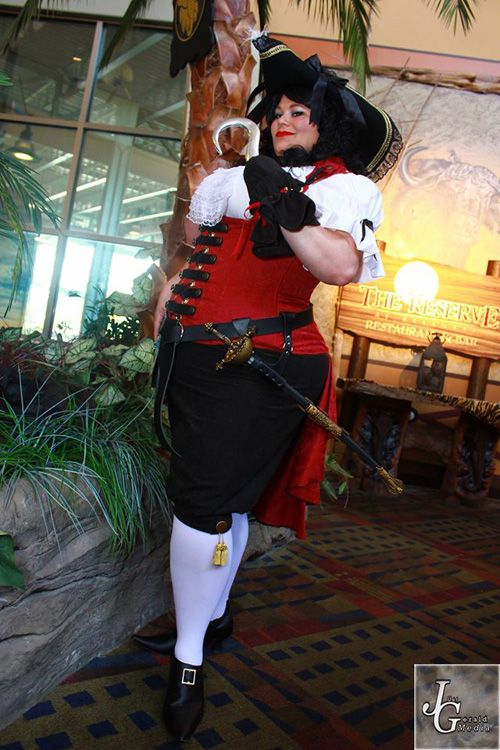 female captain hook cosplay   geekxgirls   article