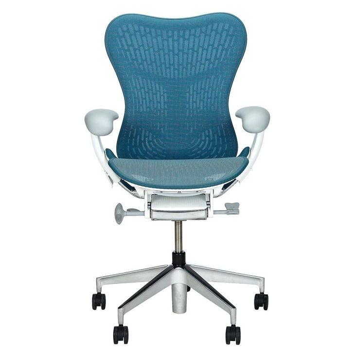 Herman Miller Aeron Office Chair Size B Polished Aluminium
