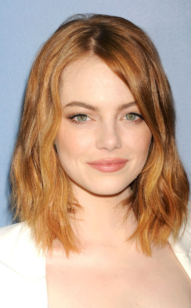 Emma stone blonde hair color was