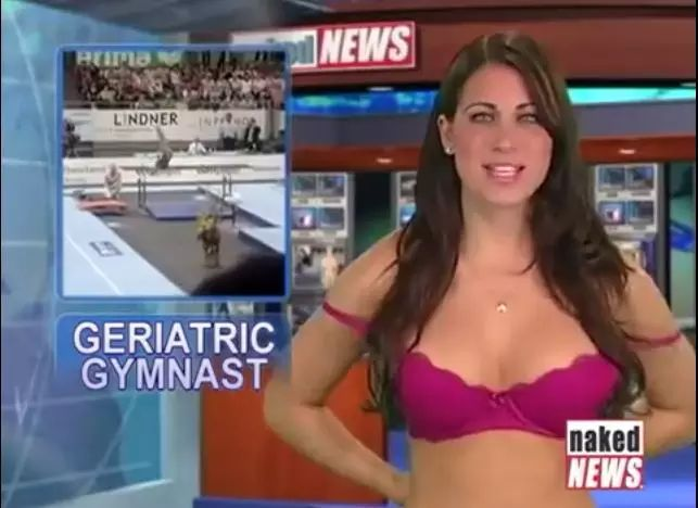Sorry, that Hot nude women news reporters please