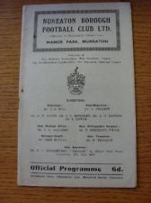04/05/1963 Nuneaton Borough v Kings Lynn