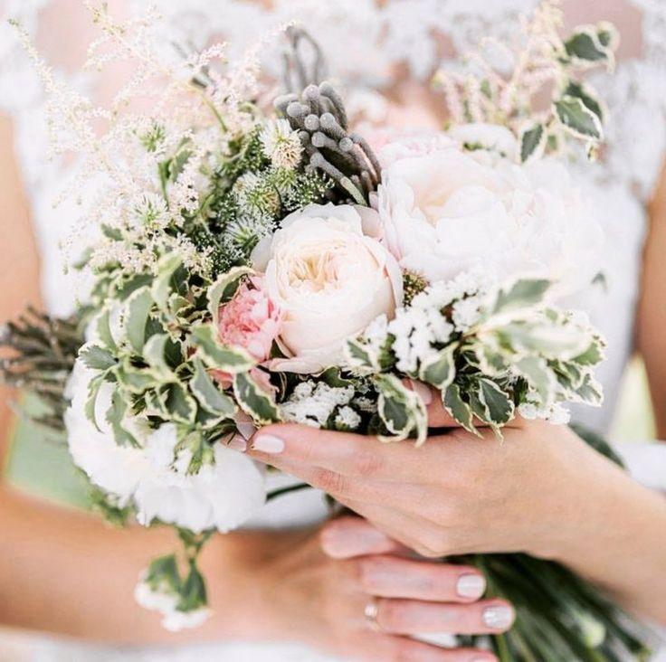 #WeddingBouquet - ślubny bukiet na Instagramie , fot. Instagram/d.fleur_gomel