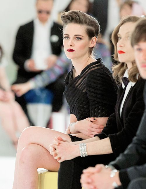 Kristen Stewart during the Chanel 2015/16 Cruise Collection show in Seoul, South Korea (May 4, 2015)