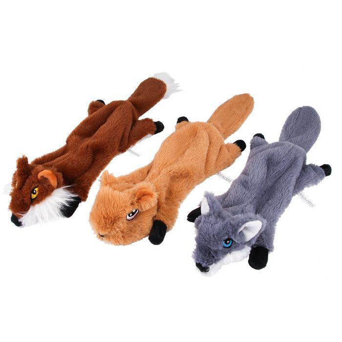 New Dog Toys Bite Resistant Wear Resistant Vocal Molar Pet Fox
