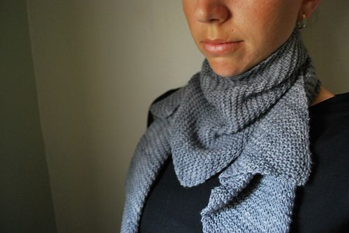C I R R I F O R M - Scarf design by Lisa Mutch -   The simplicity of this delicate scarf mimics the cirriform cloud. Thin, wispy, flat, sheetlike, with relative transparency. http://www.ravelry.com/patterns/library/cirriform