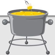 Do you live in New York City?Have Fondue NYC style.Here is a list of fondue restaurants in the big Apple.