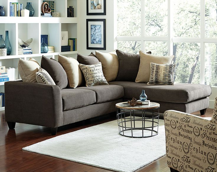 charcoal and brown living room 17 best ideas about gray sectional sofas on 20743
