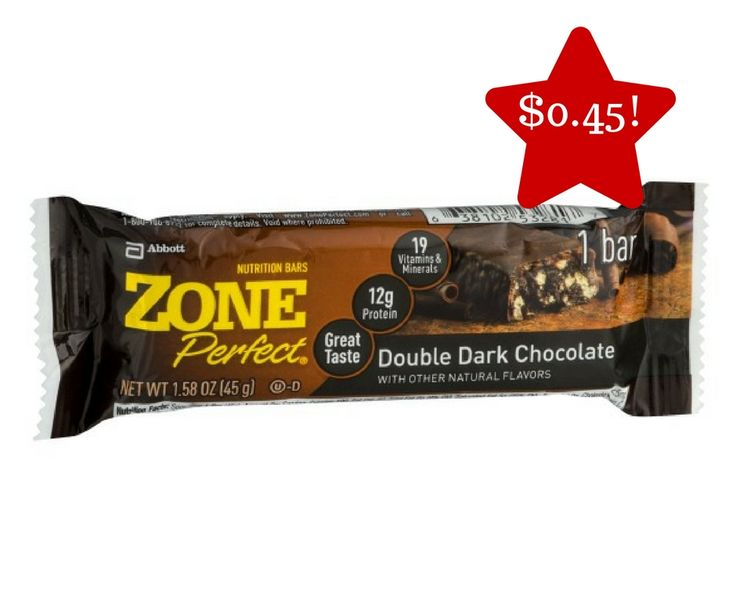 Zone Bars Only $0.45 - http://www.couponsforyourfamily.com/zone-bars-only-0-45/
