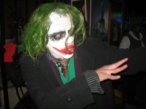 More of My Own Heath Ledger's Joker Cosplay