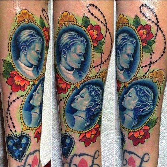 Titanic Cameo Tattoo by Megan Massacre