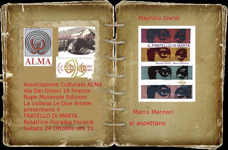 IL FRATELLO DI MARTA  @ Palazzo De' Tolomei Associazione Culturale Alma - 24-Ottobre https://www.evensi.com/il-fratello-di-marta-palazzo-de-tolomei-associazione/162340050