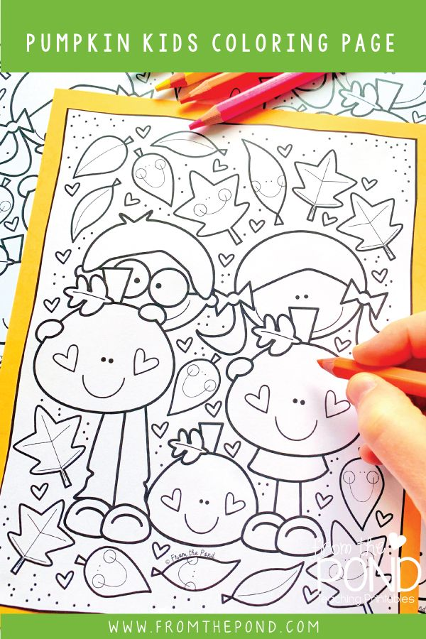 Fall Learning Activities Cute Halloween Coloring Pages Coloring Pages For Kids Pumpkin Coloring Pages
