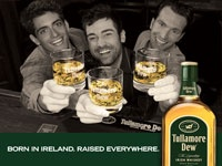 Tullamore Dew, One of the finest Irish whiskeys. On the rocks or with Ginger Soda.  for a  Ginger Dew