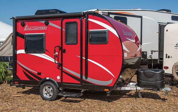 CampLite CL11FK Ultra Lightweight Travel Trailer Floorplan | Livin' Lite