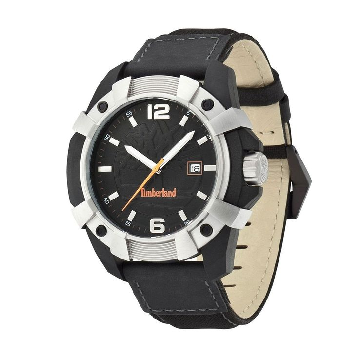 Run your Elegance 365 days a year! Elegance is a mindset CHOCORUA Black Silver - Timberland Watch - Runit365 your Elegant Men Store  #leather #menswear #silk #menstyle #deluxe