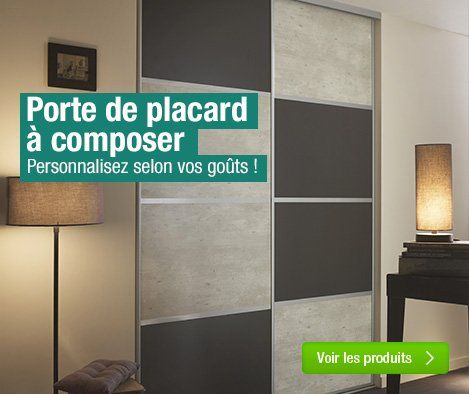 15 best Portes de placards sur mesure images on Pinterest Cupboard - rail pour porte de placard