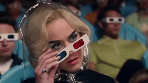 New party member! Tags: music video katy perry chained to the rhythm 3d glasses 3d movie