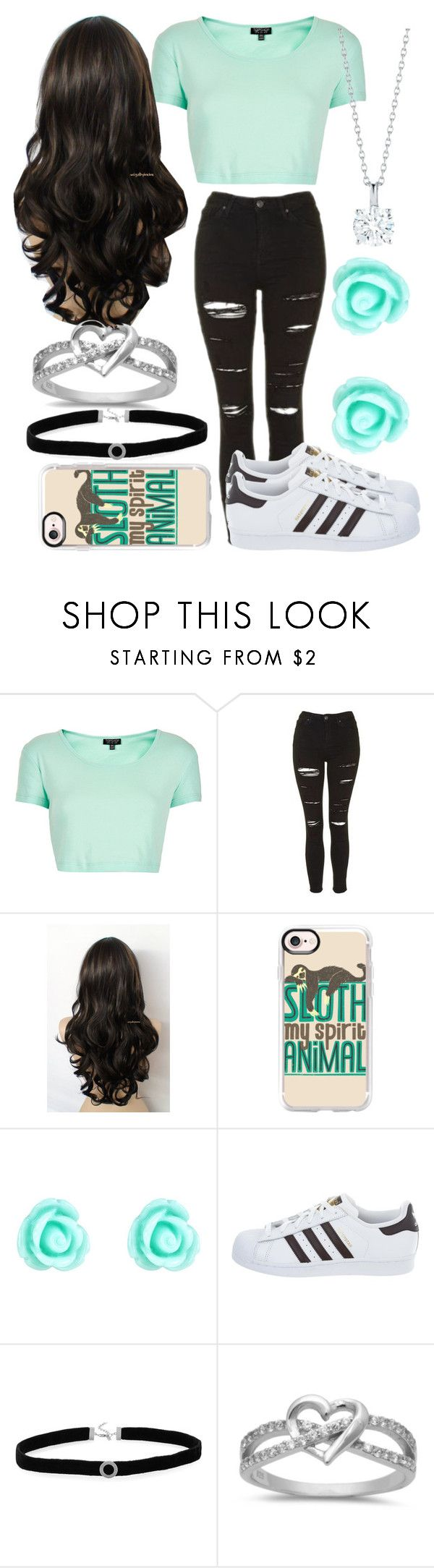 """""""Untitled #56"""" by mylifeasem ❤ liked on Polyvore featuring Topshop, Casetify, Monsoon, adidas and BillyTheTree"""