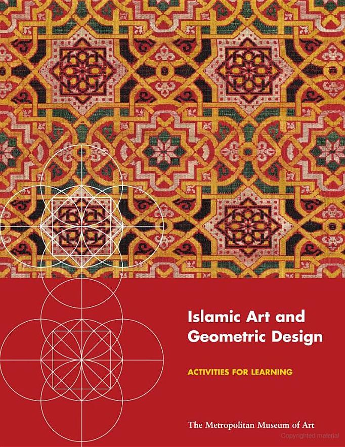 Islamic Art and Geometric Design:   Examine the principles of geometric design that are the basis for the beautiful and intricate patterns in the art of the Islamic world. #Teachers #Education #K12