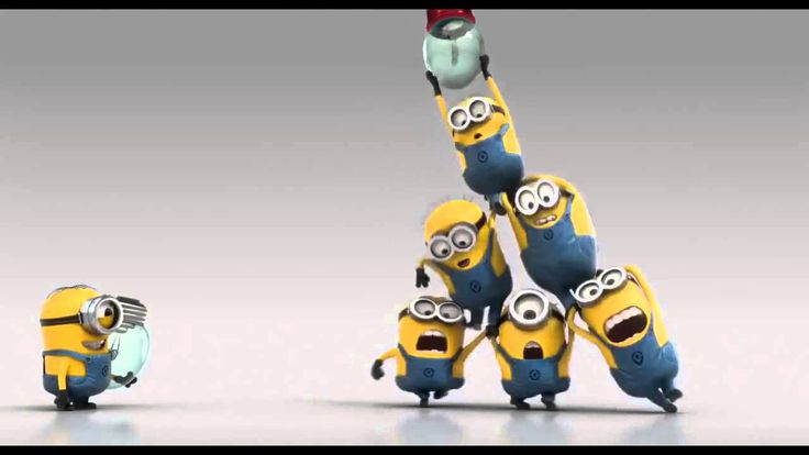 Minions teach teamwork.