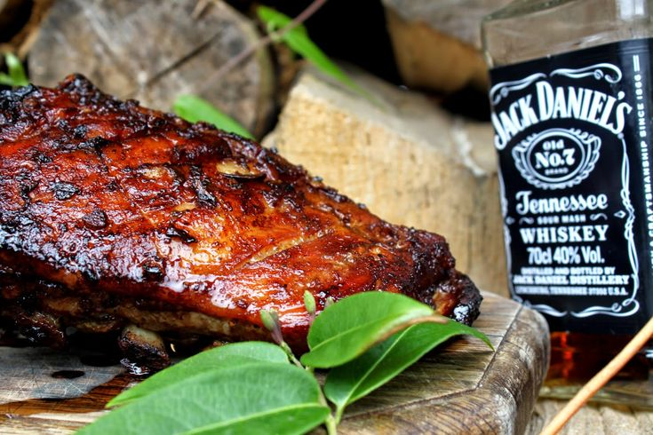 Żeberka w marynacie Jack Daniel's