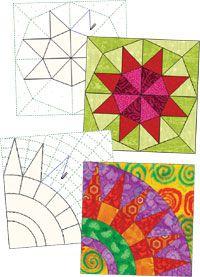 Electric Quilt 6 - detailinformatie - drawingtools