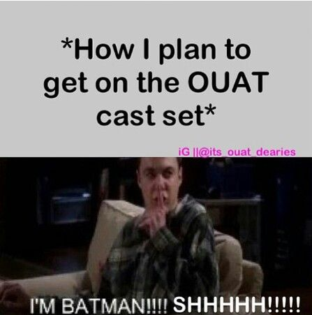 Lol. I had a dream about OUAT. I believe it was me, some of my family, Snow, Charming, Henry, Regina, Neal, and Emma. I think we fell in a portal to the moon or something. Idk