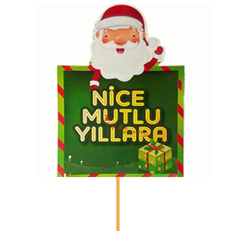 Nice Mutlu Yıllara Sopalı Noel Konuşma Balonu