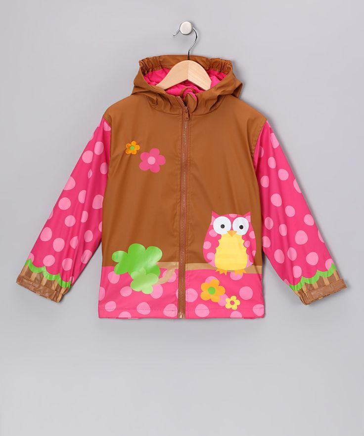 Owl Raincoat for Kids.