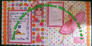 A Pretty Talent Blog: Scrapbooking: Capturing Your Ballerina In Colour Part 2