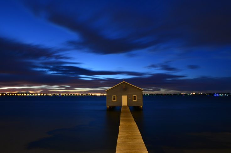 Crawley boat shed, Perth Western Australia. About 4:30am