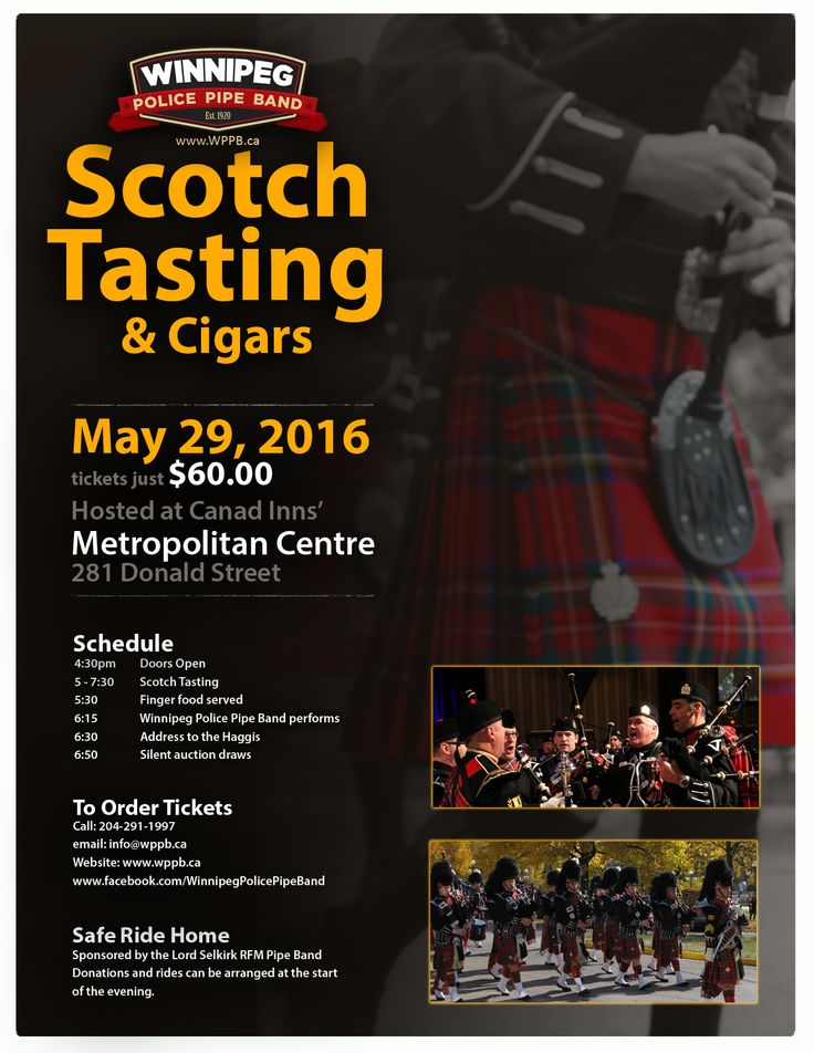 For you Scots out there, or just those who like drinking scotch while listening to the mournful sound of the pipes, here is an event for you.  Check it out.