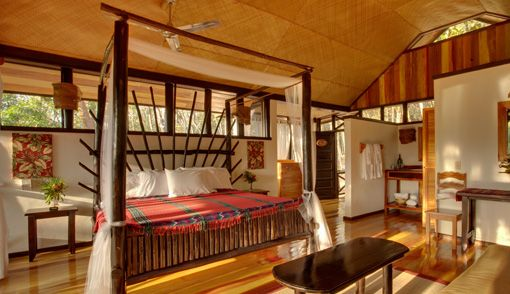 Spectacular Macal River View Cabanas at luxury eco-resort in Belize; Table Rock Jungle Lodge Best Rooms