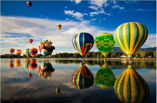 Hot-Air Balloons  by harriet