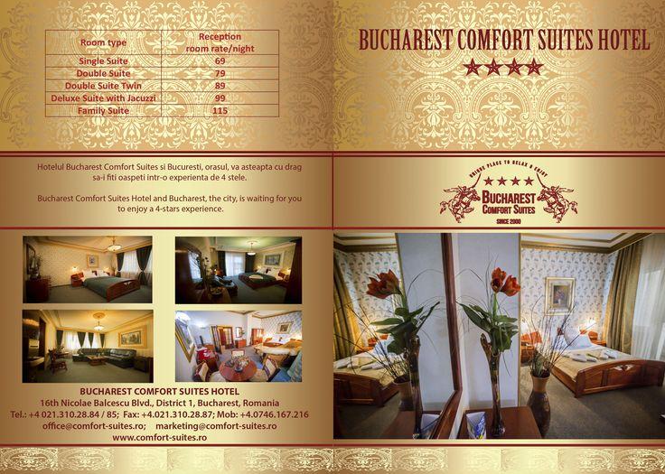 Elegance at a glance... Bucharest Comfort Suites Hotel