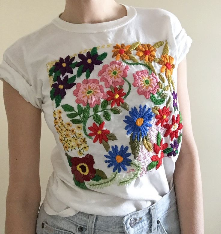 Embroidery hoops and embroidered clothing by TessaPerlowInc on Etsy • So Super Awesome is also on Facebook, Twitter and Pinterest •
