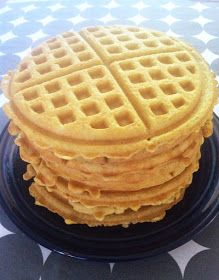 Color it Lovely: Grain-Free Sugar-Free Waffles (candida friendly) (75g carbs)