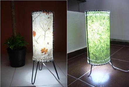 1000 images about lamparas de papel on pinterest mesas - Lamparas de techo de papel ...