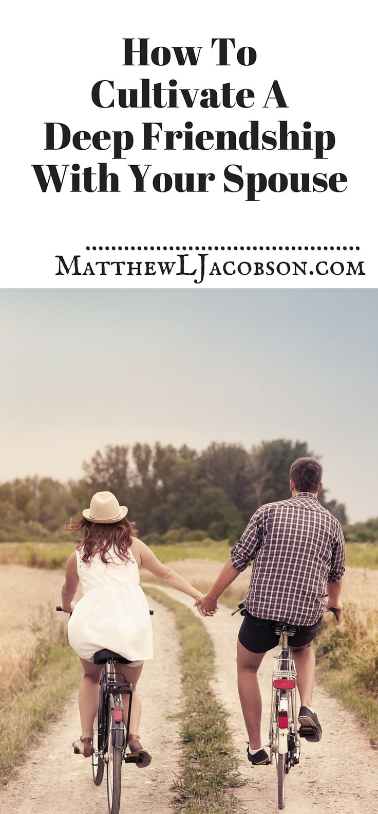 Many marriages are friendless, where the richness and depth of life go missing for years . . . sometimes forever. Don't let that happen to your marriage. Here's how to cultivate a deep friendship with the one you love.