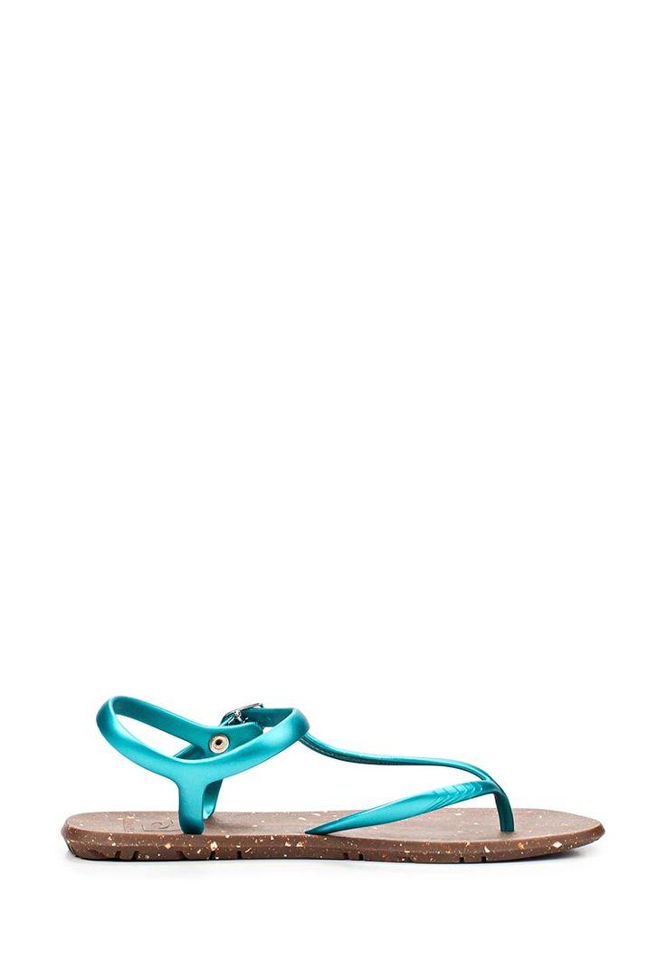 Сандалии Amazonas Sandals полностью выполнены из легкого полимерного материала. Детали: бирюзовые ре