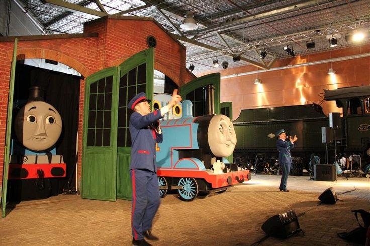 Thomasweekend 2013 Spoorwegmuseum Utrecht #Railwaymuseum #Holland