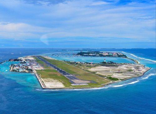 Touchdown Maldives… (at Ibrahim Nasir International Airport)