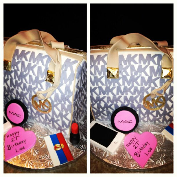 Michael Kors Cake Birthday Cakes Michael Kors Cake
