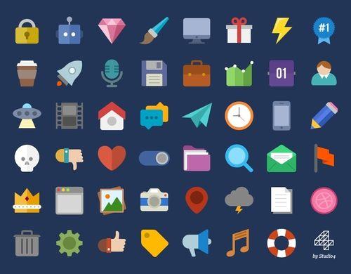 #Free Icons #Flat Design